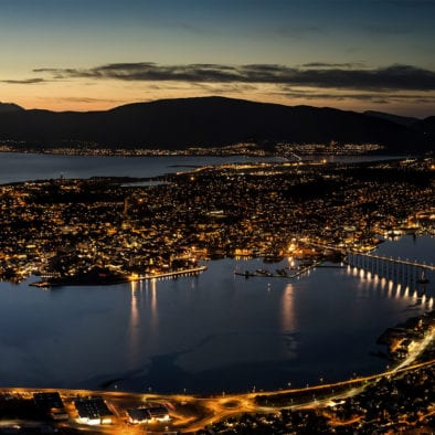 Wonderful Tromsø at Night