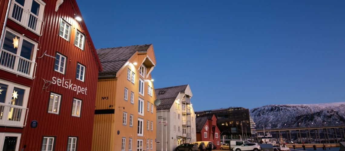Tromsø historical centre